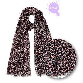 Pañuelo: ¡think pink Animal Print!